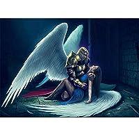 絵画エンジェル5dスクエアdiy装飾絵画ダイヤモンド刺繍絵画クロスステッチクラフト工芸品,40x50cm