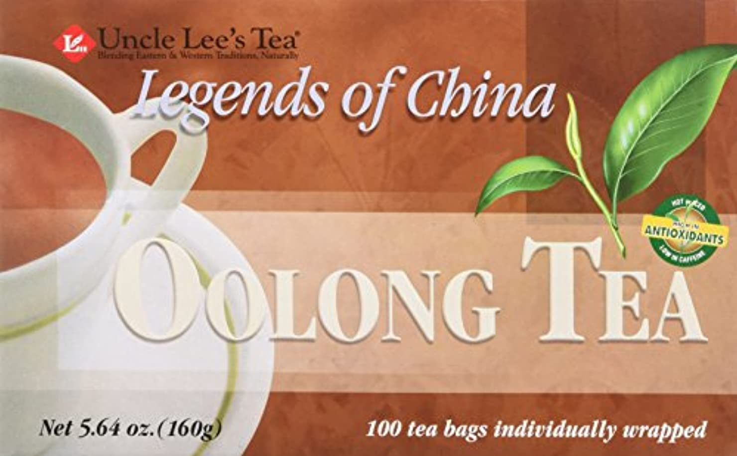 輝くボイコットダッシュ海外直送品Legends Of China Oolong Tea, 100 Bags by Uncle Lees Teas