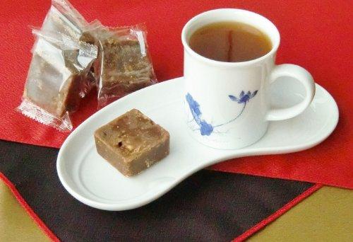 台湾産 黒糖薑母茶 (龍眼、なつめ入り) 約35g×13個 (固形)