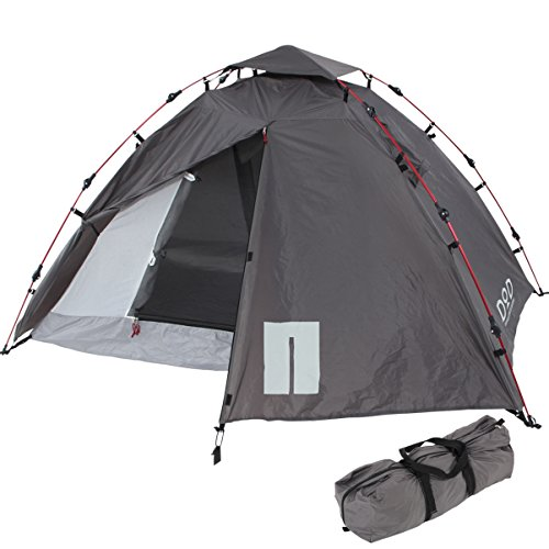 DOPPELGANGER OUTDOOR 2人用 ライダーズワンタッチテント T2-275 バイク積載OK! 56cm収納 重量2.9kg