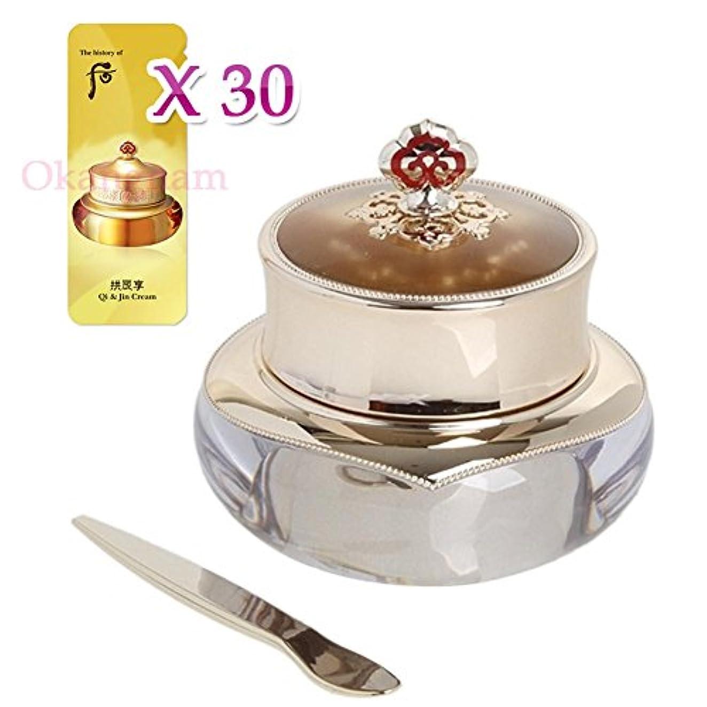 箱重大レンディション【フー/ The history of whoo]  Whoo 后 CK04 Hwahyun Eye Cream / 后(フー) 天気丹(チョンギダン) ファヒョン アイクリーム25ml + [Sample Gift](...