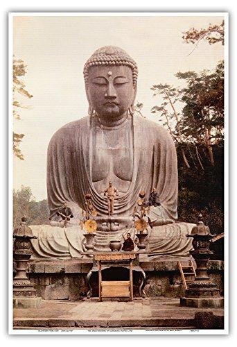 The Great Buddha鎌倉の大仏( ) Statue–K _ toku-in Temp...