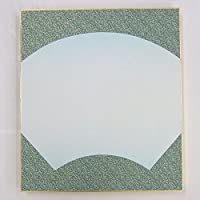 大色紙 なごみ 水 扇 10枚 242×273mm