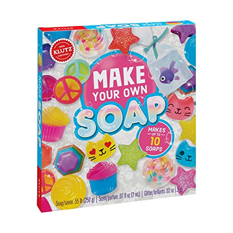 シャックル幽霊超高層ビルKlutz K810645 Make Your Own Melt & Pour Soap Kit