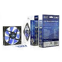 Noiseblocker NB-BlackSilentFan XL-1 120mm x 25mm Ultra Quiet Fan, 1000 RPM, 13dBA [並行輸入品]