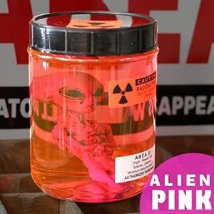 【AREA 51 ALIEN IN JAR】エリア51 エイリアンホルマリン漬け(ピンク)
