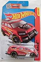 Hot Wheels ホットウィール C4982 982P PC 153/250 HW RACE NITRO TAILGATER 単品 赤 ミニカー 車 HotWheels MATEL
