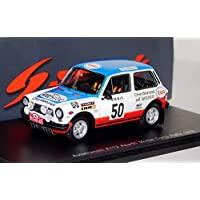 1976 AUTOBIANCHI a112アバルトMonte Carlo Rally in 1 : 43スケールby Spark