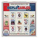 Deplorables the Game: ビデオを見ましょう。 Drain The Swamp、政治ゲーム、大人用パーティーゲーム、13歳以上、FBI調査を避け、ゲームナイトのための大学ゲーム!