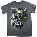 ユニセックス Tシャツ 【STAR WARS スター・ウォーズ / カンティーナ The Cantina Tシャツ / M サイズ / チャコール】 【並行輸入品】