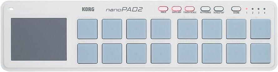 KORG USB MIDIコントローラー NANO PAD2 ナノパッド2 ホワイト
