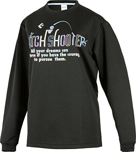 (コンバース)CONVERSE バスケットボールウェア プリントロングスリーブTシャツ 17FW CB372306L [レディース] CB372306L 1922 ブラック/Sブルー M