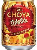 チョーヤ ウメッシュ プレミアム 250ml×1箱(24缶) ■3箱まで1個口発送可