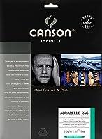 キャンソン 写真用紙 インフィニティ アルシュ アクアレル ラグ A4 10枚 6121015 【正規輸入品】