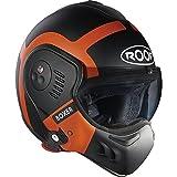 ROOF(ルーフ) BOXER V8 BOND (ボクサーV8 ボンド) ヘルメット ブラック×オレンジ XLサイズ ¥ 68,040