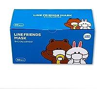 LINE FRIENDS マスク50枚入り
