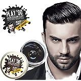 Temporary Hair Color, Hair Wax, Hair Clay, Mens Grooming, Pomade, Black hair dye(1.8 ounces)