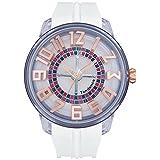 [テンデンス]Tendence 腕時計 King Dome ホワイト文字盤 TY023003 メンズ 【正規輸入品】