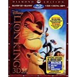 The Lion King 3D: Diamond Edition (Special Edition Blu-ray 3D + Blu-ray + DVD + Digital Copy with Bonus Original Motion
