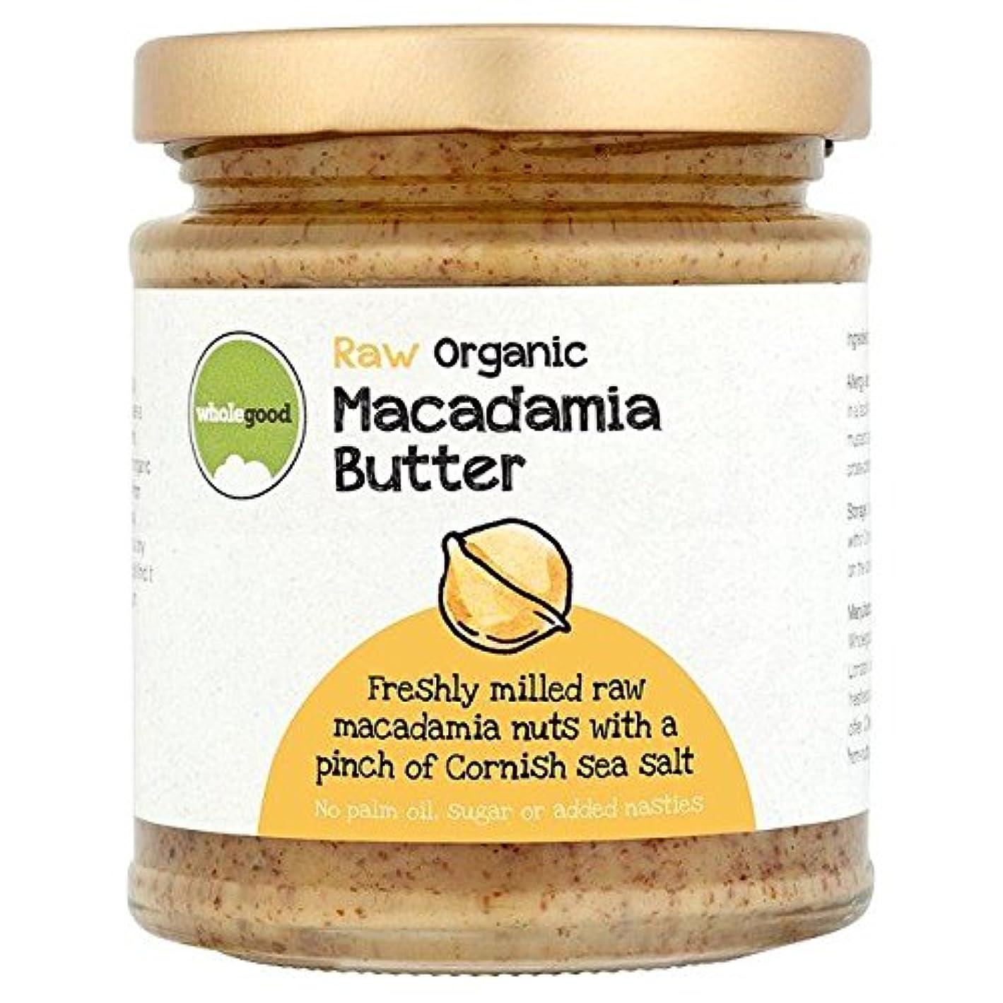 殺します奨励します湾有機生マカダミアナッツバター170グラム (Wholegood) - Wholegood Organic Raw Macadamia Nut Butter 170g