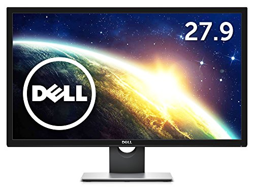 Dell ゲーミングモニター 27.9インチ 2ms/スリムベゼル/4K/TN 非光沢/フリッカーフリー/スピーカ内蔵/DP,mDP,HDMIx2/3年保証 S2817Q