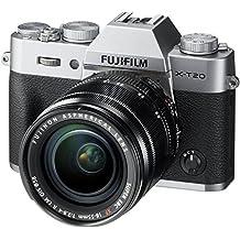 Fujifilm X-T20 Mirrorless Digital Camera w/XF18-55mmF2.8-4.0 R LM OIS Lens - Silver