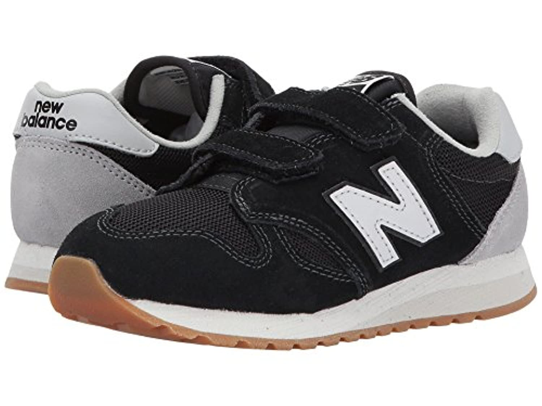(ニューバランス) New Balance キッズランニングシューズ??スニーカー?靴 KA520v1 (Infant/Toddler) Black/White 6.5 Toddler (14cm) M