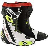 alpinestars(アルパインスターズ) SUPERTECH-R ブーツ BLACK WHITE YELLOW FLUO 43 (27.5cm)