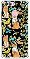 sslink nova 2 HWV31 HUAWEI ハードケース ca1324-3 CAT ネコ 猫 スマホ ケース スマートフォン カバー カスタム ジャケット au UQmobile