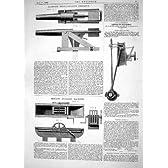 1863台のBLAKELY BREECH-LOADINGの兵器SEZILLE練る機械の設計