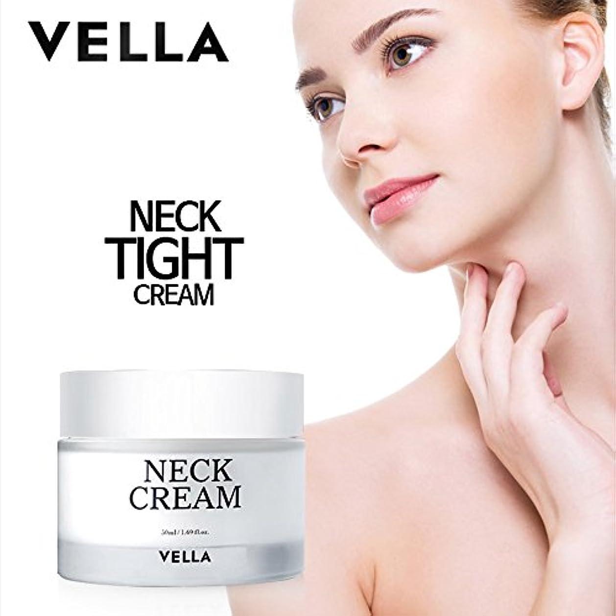 右宮殿ワゴンVELLA Anti Wrinkle & Whitening Strong Neck Cream(体がキレイvella首専用のクリーム) 50ml [並行輸入品]