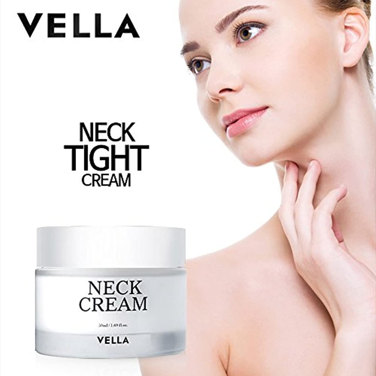 記憶に残る興奮特異性VELLA Anti Wrinkle & Whitening Strong Neck Cream(体がキレイvella首専用のクリーム) 50ml [並行輸入品]