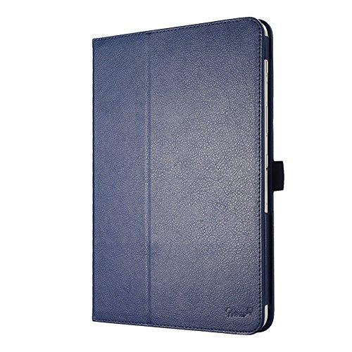 wisers 東芝 Toshiba dynabook Tab S80 SZ80 S90 SZ90 タブレット 専用 ケース カバー ダークブルー