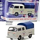 GREENLIGHT 1:64SCALE RUNNING ON EMPTY SERIES 2 1974 VW DOUBLE CAB PICKUP WITH CANOPY - CHEVRON グリーンライト 1:64スケール ランニング オン エンプティ「1974 VW ダブルキャブ ピックアップ WITH CANOPY -シェブロン」 並行輸入品