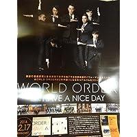 WORLD ORDER HAVE A NICE DAY告知ポスター須藤元気
