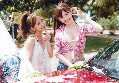 AKB48 公式生写真 Everyday、カチューシャ 店舗特典 タワーレコード 【小嶋陽菜&板野友美】