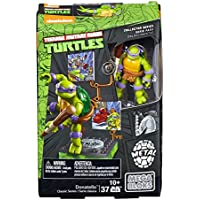 [メガブロック]Mega Bloks Teenage Mutant Ninja Turtles Collectors 1987 Classic Donatello Figure DMW23 [並行輸入品]