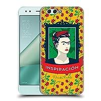 Official Frida Kahlo フレーム アイコンズ ハードバックケース Zenfone 4 ZE554KL