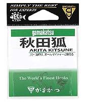 がまかつ(Gamakatsu) 秋田キツネ 茶 フック 2号 釣り針