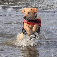 "Travelin K9 Premium Red Neoprene Dog Life Jacket, Reflective, Bouyant (Small 18-23"" Chest) 141[並行輸入]"