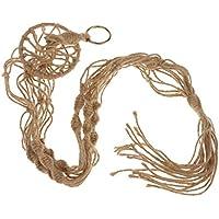 ノーブランド品  麻ロープ ナイロン ロープ 植物ホルダー ハンガー スタンド 吊りスタンド 100CM 6色選べる - #5