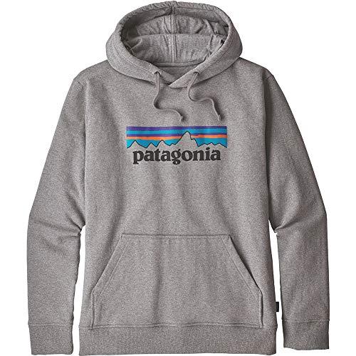 【正規取扱店製品】patagonia パタゴニア P-6ロゴアップライザルフーディ男性用 39539 グラベルヘザー XS
