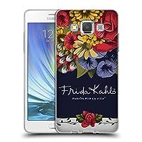 Official Frida Kahlo ブルーム レッド・フローラル ソフトジェルケース Samsung Galaxy A5 (2015)
