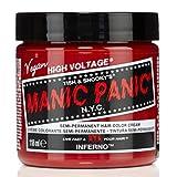 スペシャルセットMANIC PANICマニックパニック:INFERNO (インフェルノ)+ヘアカラーケア4点セット