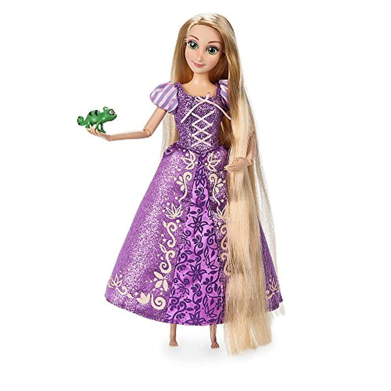 【ディズニーストアUSA】 ラプンツェル クラシックドール & パスカル フィギュア 11.5インチ Rapunzel Classic Doll with Pascal Figure - 11 1/2'' [並行輸入品]