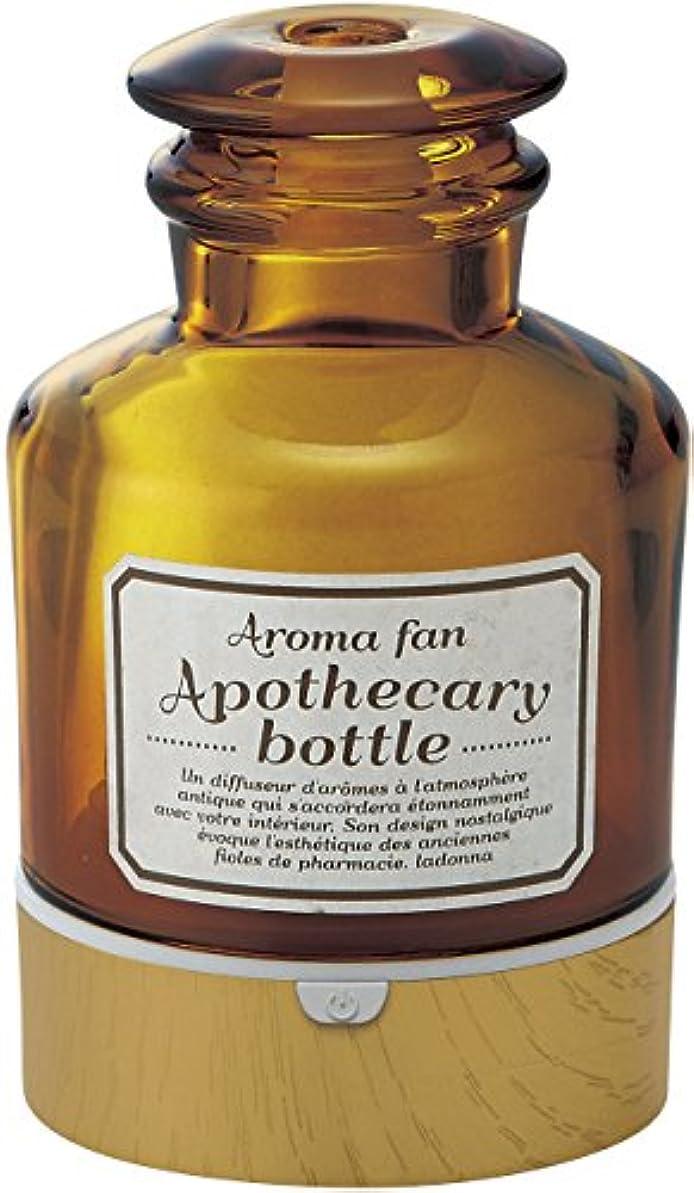 周囲楽しむハントラドンナ アロマディフューザー アポセカリーボトル ADF22-ABM 飴色