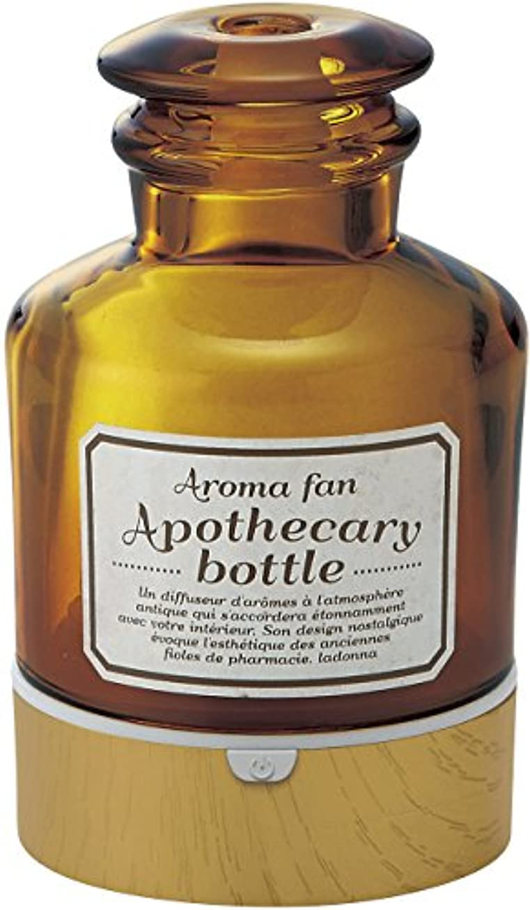 出身地裁量アルミニウムラドンナ アロマディフューザー アポセカリーボトル ADF22-ABM 飴色