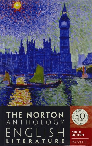Download The Norton Anthology of English Literature: Package 2 0393913015