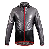 Best Wolfbikeサイクリングジャケット - WOLFBIKE NEW Raincoat Rain Jacket Windproof Waterproof Cycling Review