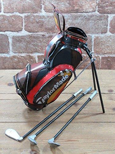 東洋石創 ブリキの置物(golfbag) 27586